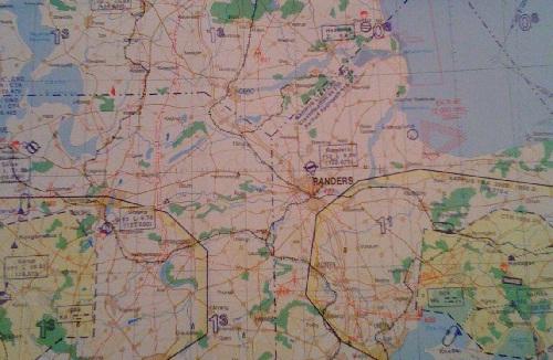Kort over nærområdet